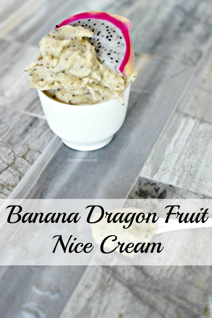 This Banana Dragon Fruit Ice Cream is great. I love desserts but the sugar is not the best thing to have in a healthy diet. Nice cream is a great way to have a dessert and still eat healthy.