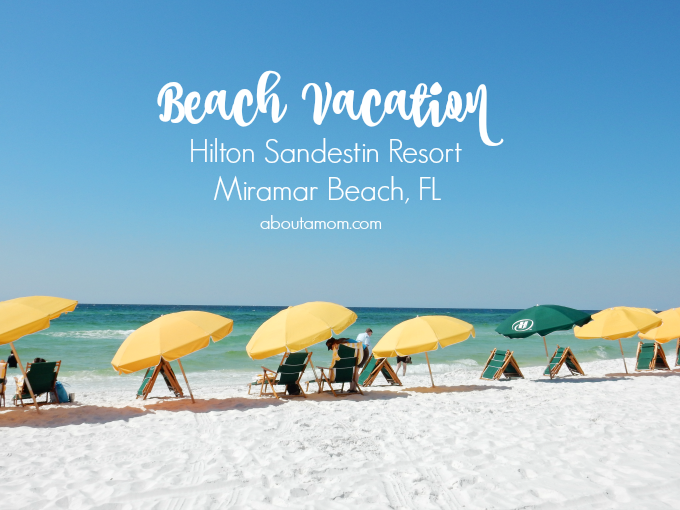 Planning your summer vacation? See what Hilton Sandestin Resort in Florida has to offer for your beach vacation!