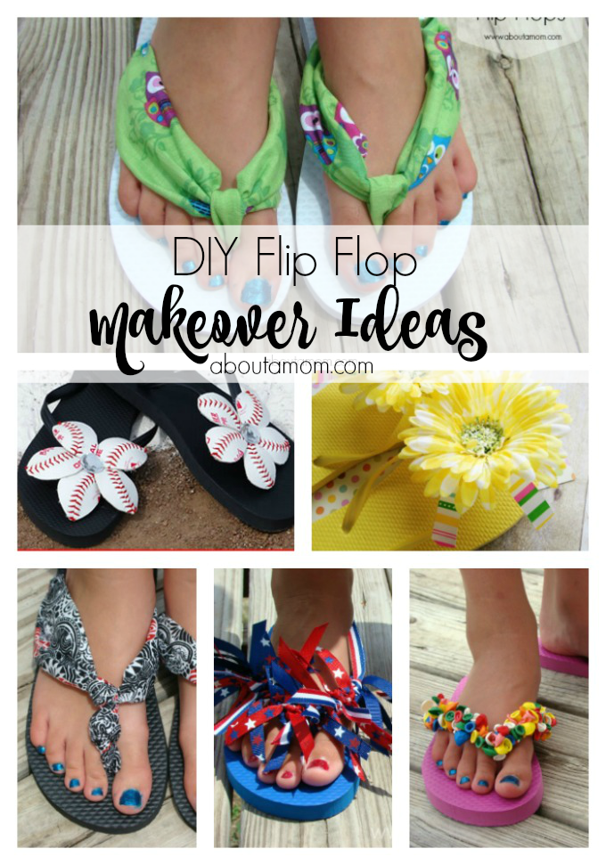 173df4d8e8e Give last year s flip flops a new look with these simple diy flip flop  makeover projects