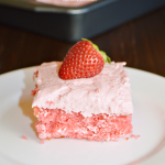 A fresh strawberry cake recipe inspired by a visit to The Butcher Shop Bakery in Longview, Texas.