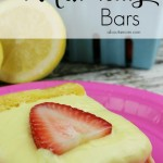 Not Your Average Lemon Strawberry Bars