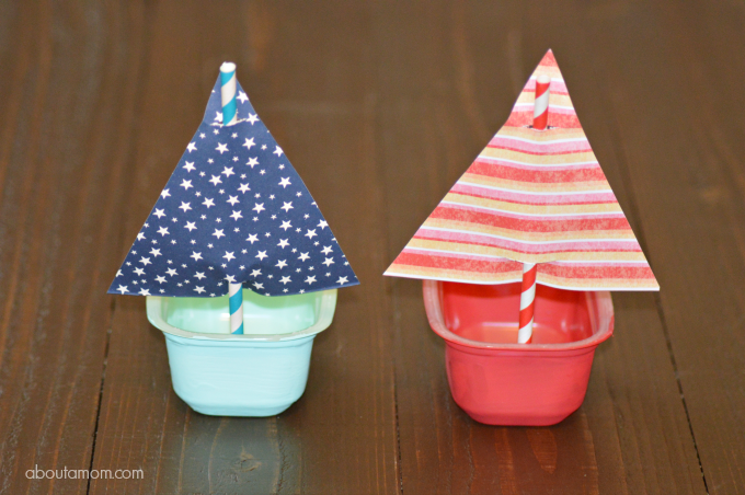 Sailboat Craft for Kids