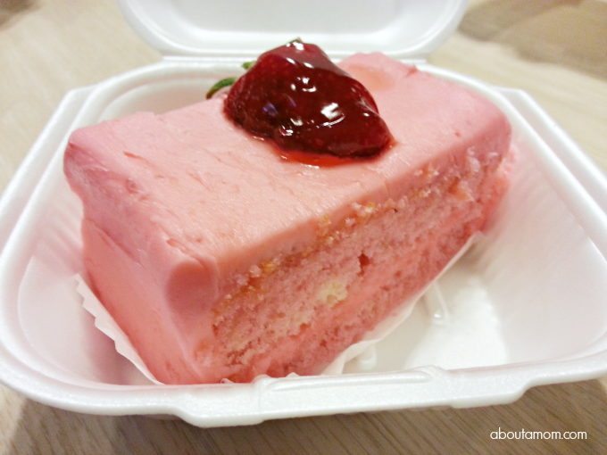 Strawberry Cake from The Butcher Shop Bakery