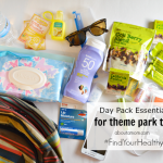 Day Pack Essentials for Theme Parks #FindYourHealthy