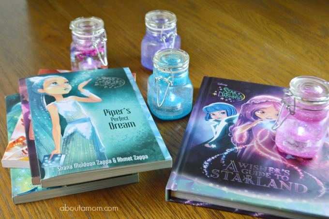 Disney Star Darlings Books and Glow Jar Craft