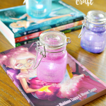Wishes are a powerful thing. Learn more about the Disney Star Darlings book series for tween girls and see how to do your own glow jar craft.