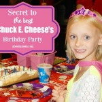 Secret to the Best Chuck E. Cheese's Birthday Party