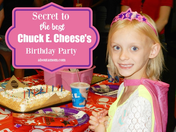 Secret To The Best Chuck E Cheeses Birthday Party