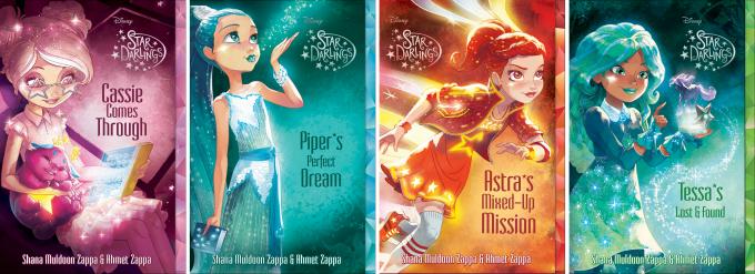 Star Darlings Books 6 - 9