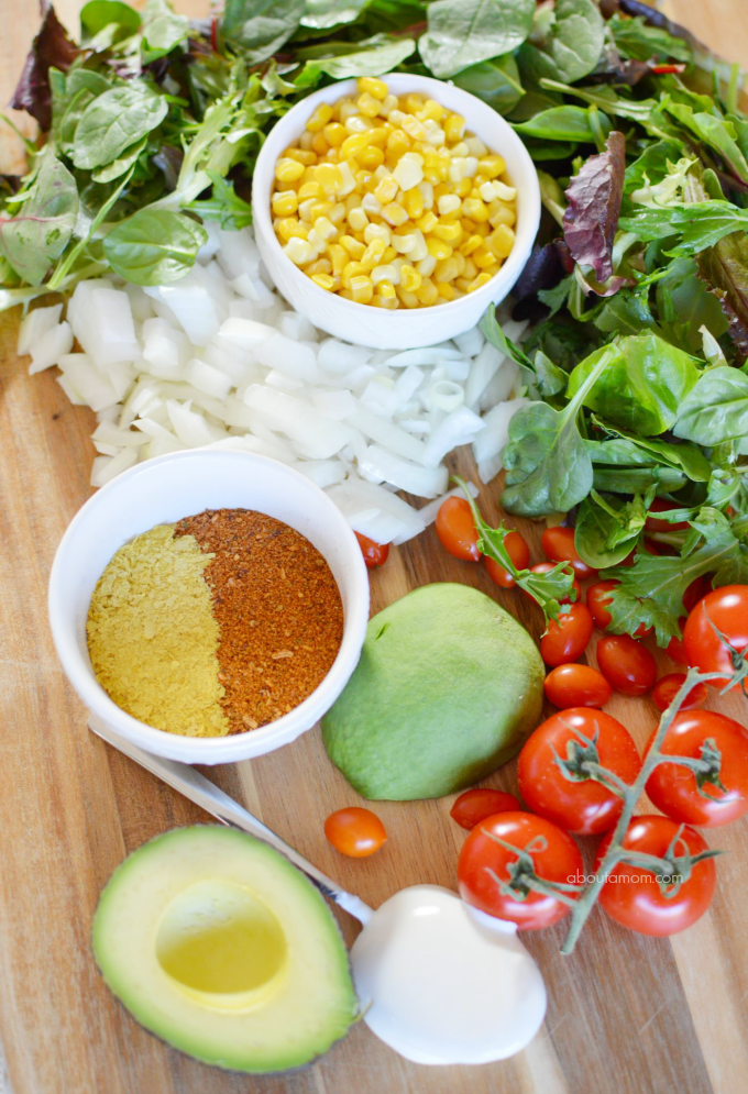 Taco Chicken Salad Ingredients