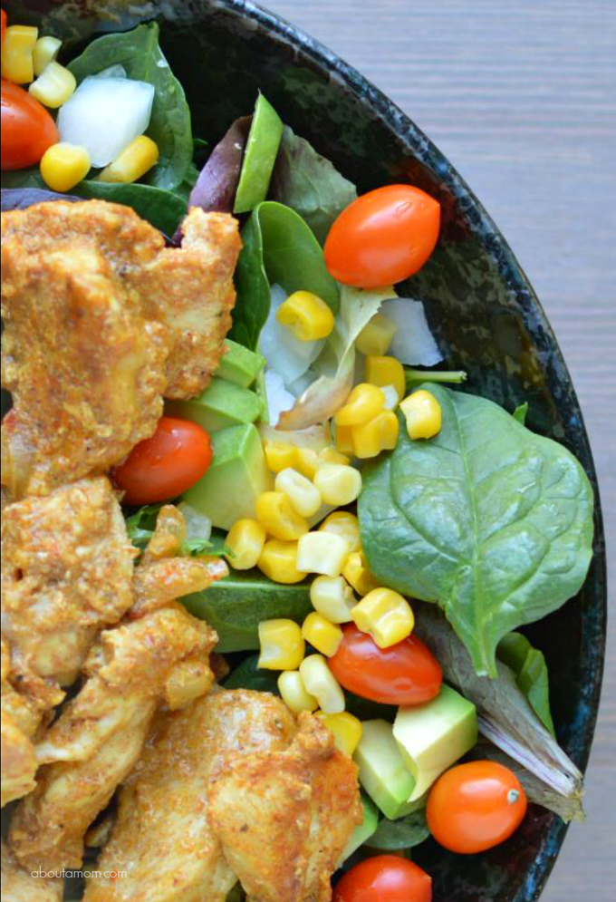 Taco Chicken Salad Recipe