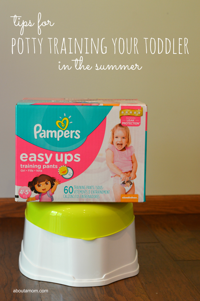 potty training your toddler