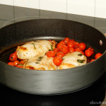 Cooking Smart with the Samsung Flex Duo™ Slide-In Electric Range + Caprese Chicken Recipe