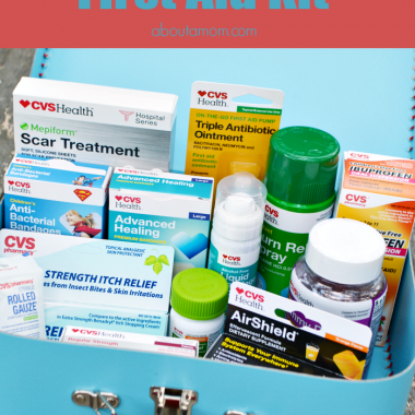 Take Care of Summertime Ouchies with a DIY Summer First Aid Kit