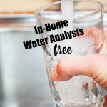 Get a Free Water Analysis #SeeWaterClearly