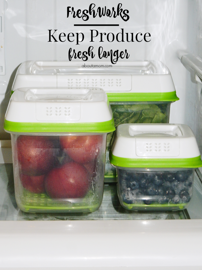 The Rubbermiad FreshWorks Produce Saver is an innovative food storage container that uses patented technology to keep produce fresher up to 80% longer. See the results.