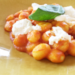 Lunch in Florence | Gnocchi in Red Sauce with Ricotta Clouds