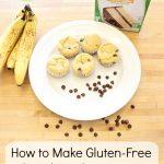 How to Make Gluten-Free Chocolate Chip Banana Muffins with Kids