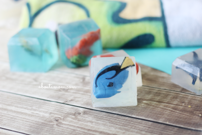 Make Your Own Finding Dory Inspired Bath Soap