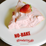 Oh-So Simple No Bake Strawberry Pie Recipe
