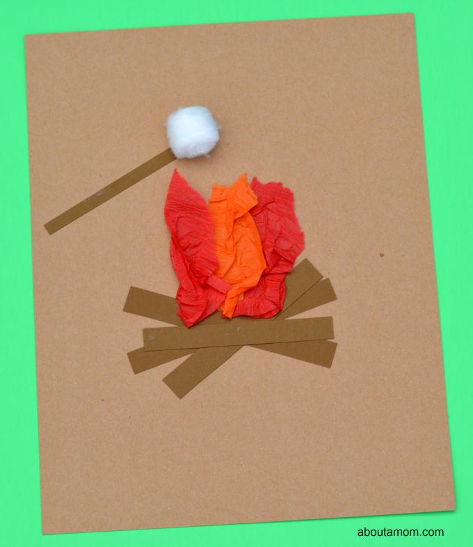 Campfire Kids Craft