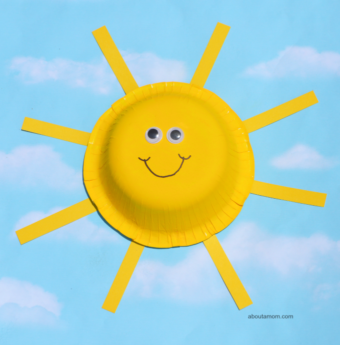 This Paper Bowl Sun Craft Is A Easy And Fun Summer Themed For Kids