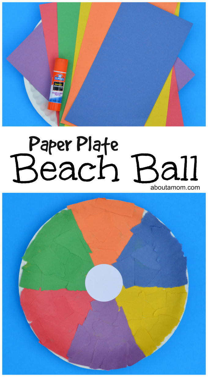 Beach Towel Craft Preschool