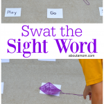 Swat the Sight Word Activity