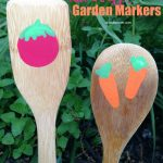 Need a cute way to mark your veggies in the garden? These cute and easy DIY garden markers help separate the garden space while adding decorations.