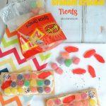 Fun to make, Candy Crush inspired graham cracker treats!