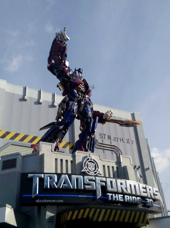 transformers Making the Most of your Trip with kids to Universal Studios Orlando