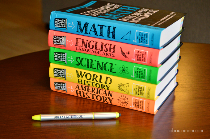 The Big Fat Notebooks series is the must-have study guide for Middle School students, covering Math, Science, American History, English Language Arts, and World History.