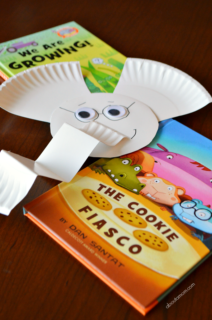 Gerald the Elephant Paper Plate Craft