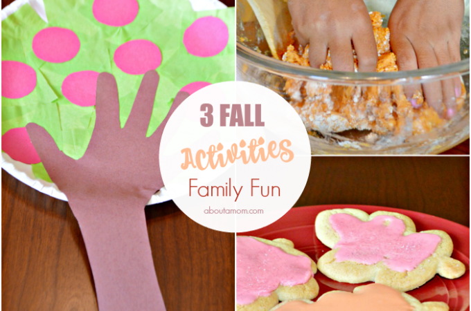 3 Activities for Fall Family Fun