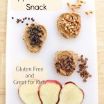 Apple Crunch Snack for Kids, Gluten Free, easy after school snack