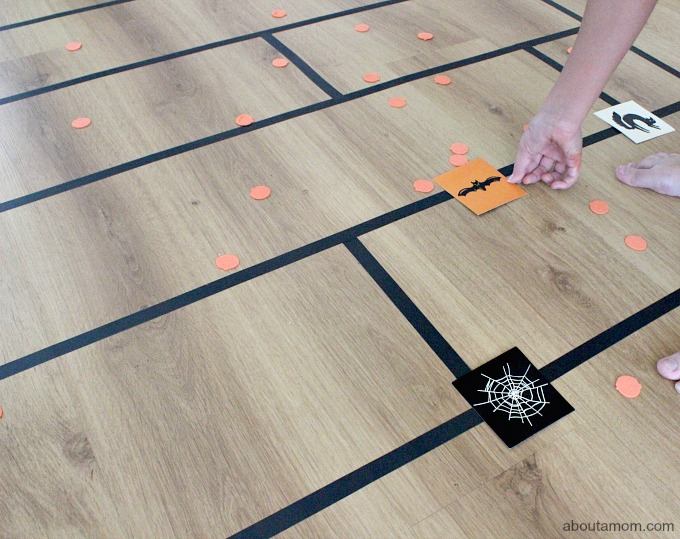 DIY Pumpkin Patch Floor Game