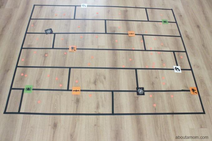 DIY Pumpkin Patch Floor Game