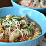 Chicken Parmesan Soup – A delicious twist on a classic Italian dish!