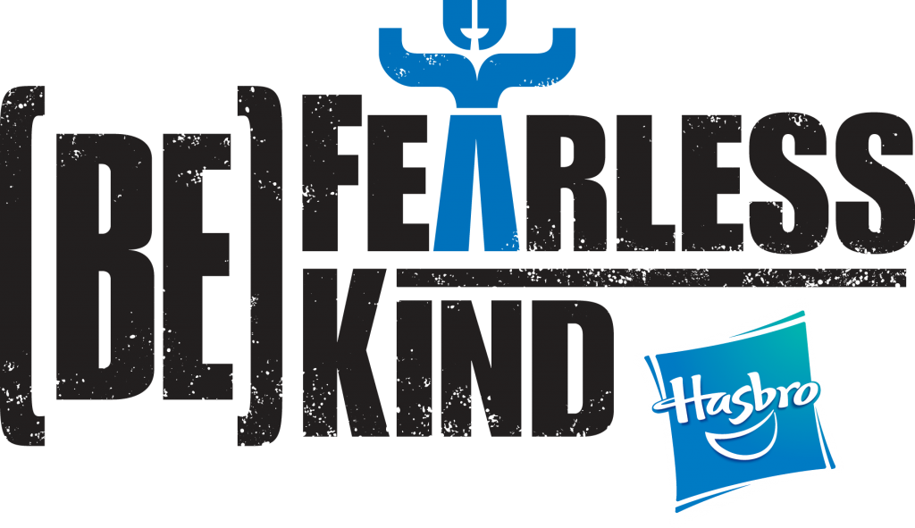 The Be Fearless Be Kind initiative from Hasbro wants kids to be kind, stand up for others, include everyone, and take action when they see a problem.