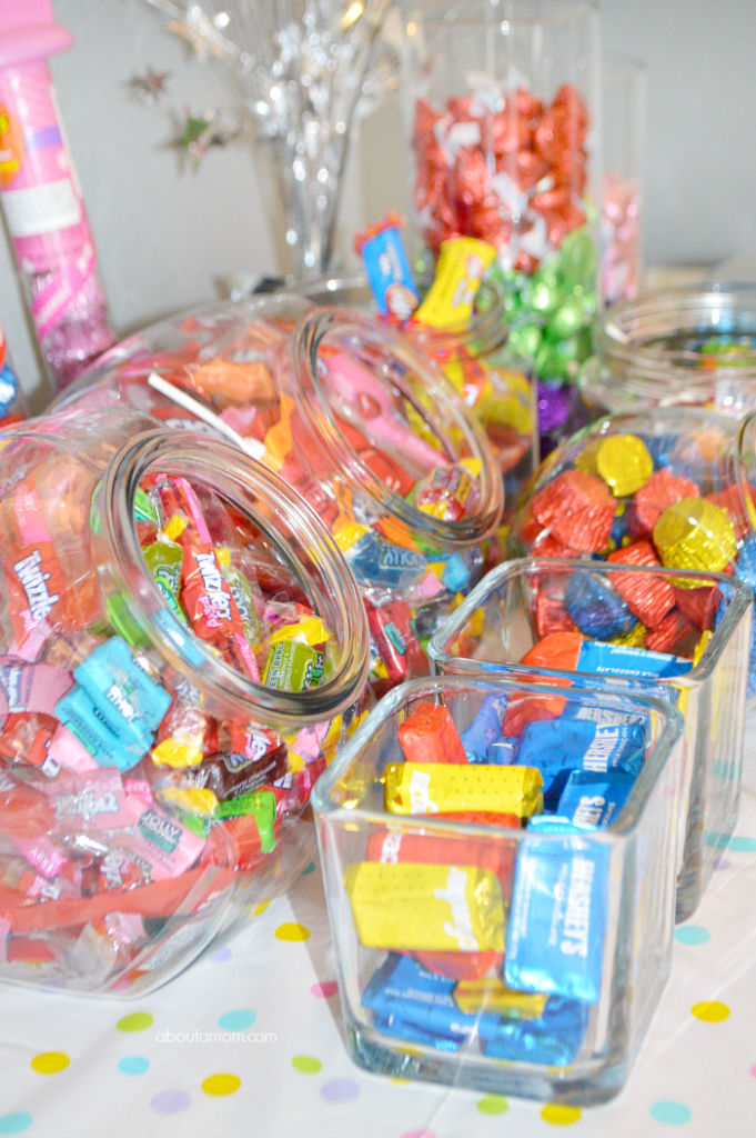 How to make a birthday party candy buffet about mom
