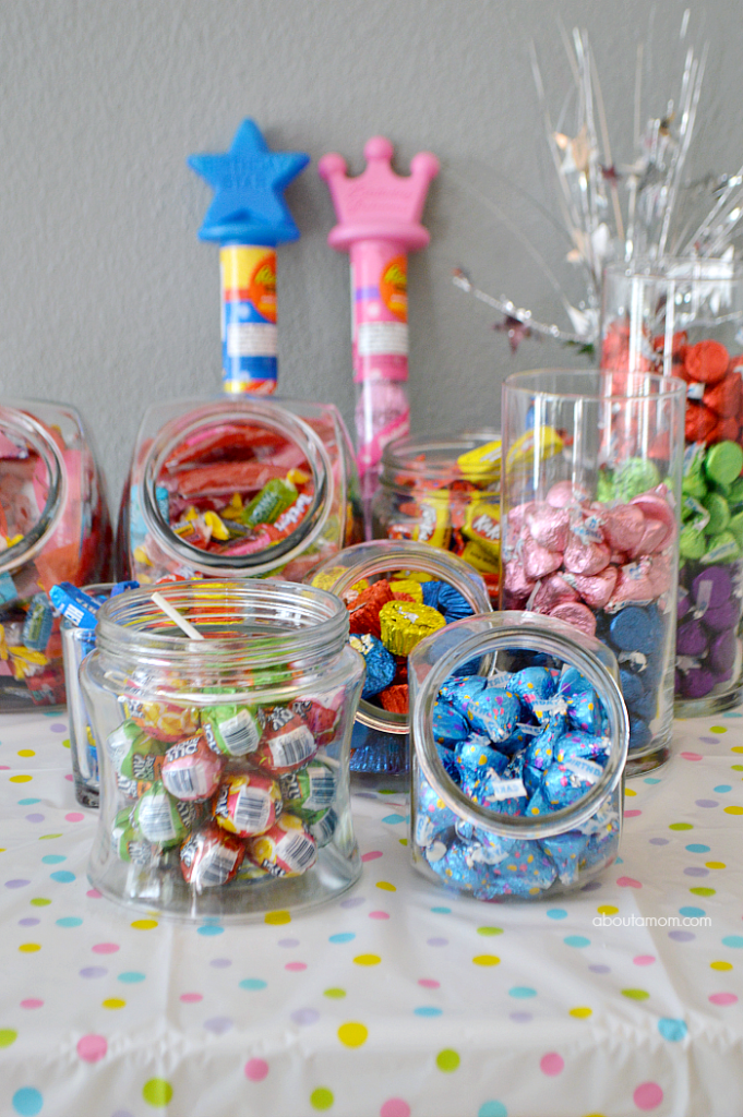 How To Make A Birthday Party Candy Buffet About A Mom