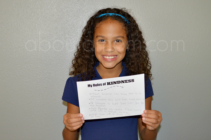 The Rules of Kindness project from generationOn and Hasbro is designed to build a culture of caring and empathy among today's youth.