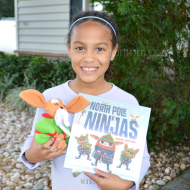 Teach kids to gift kindness this holiday season with North Pole Ninjas book and gift set from Penguin Young Readers.