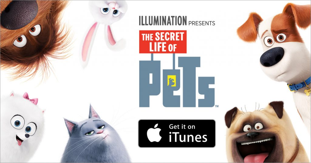 The Secret Life of Pets Digital HD Available Today
