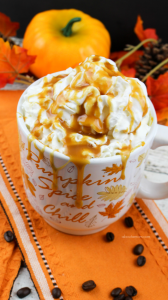 3. Add the pumpkin, vanilla and sugar and stir until well combined. Slowly add the milk and stir to incorporate all of the ingredients.