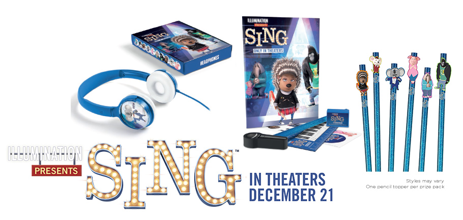 Don't let fear stop you from doing the thing you love. Grab these free SING printables for kids and see SING in theaters December 21.