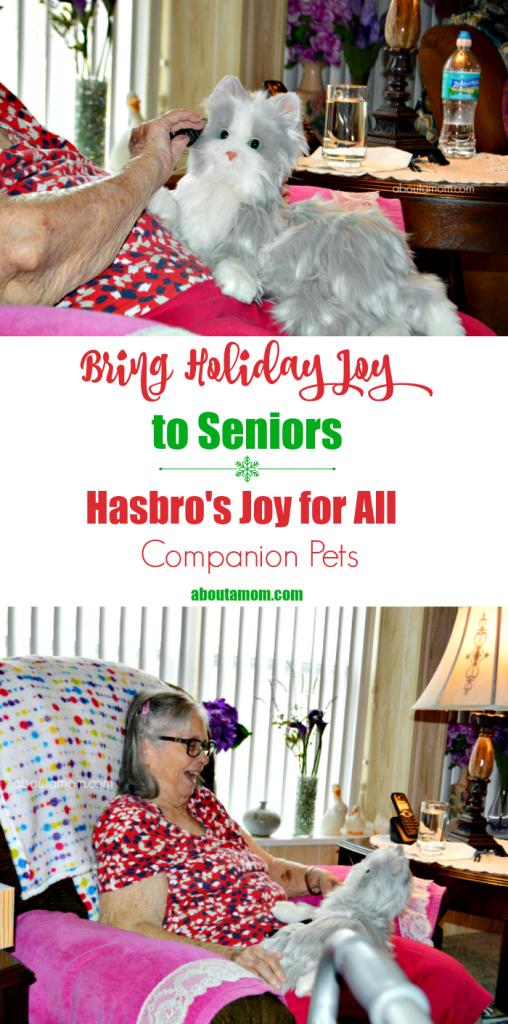 Bring Holiday Joy to Seniors with Hasbro's Joy for All Companion Pets
