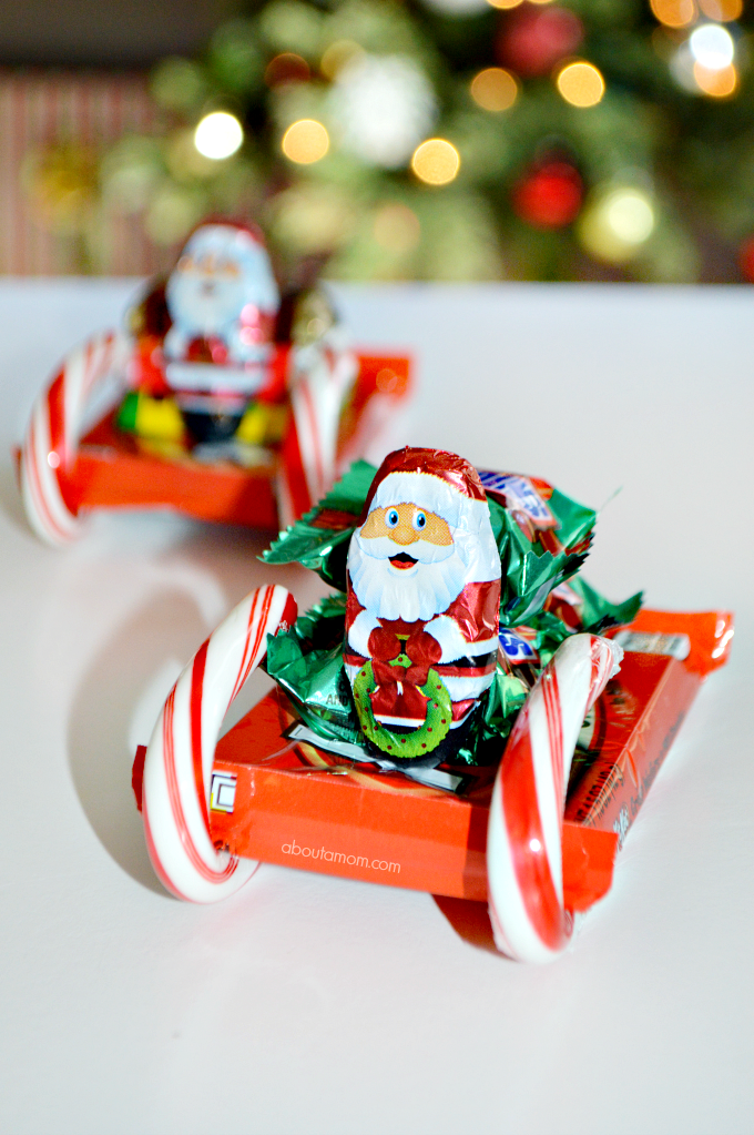 It is easy to be tempted by sweets during the holidays season. Learn how to make a fun candy sleigh and get tips from the National Candy Association for how to enjoy candy in moderation this holiday season.