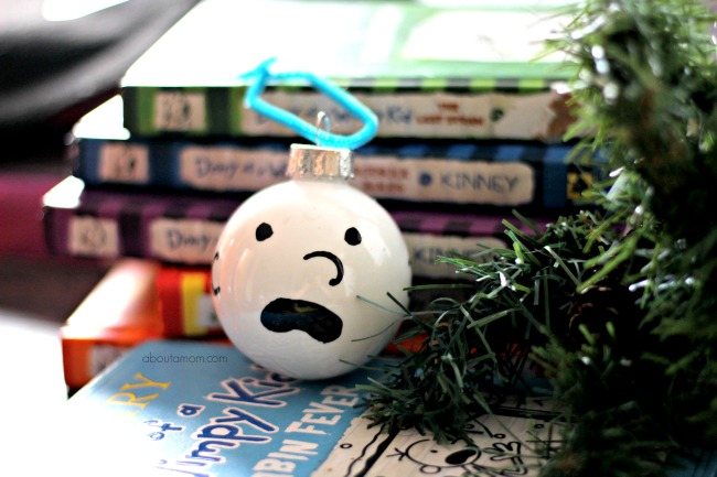 Diary of a Wimpy Kid Ornament, Personalize the tree for young readers with the best wimpy kid. Young readers will love to create this easy to make ornament