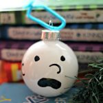 DIY Diary of a Wimpy Kid Ornament